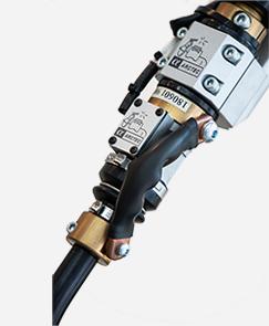 机器人内置焊枪防撞器