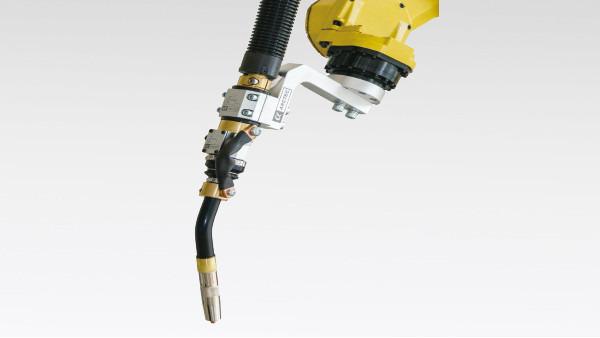 日皓焊切浅谈机器人焊枪的装备