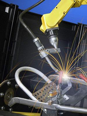 日皓焊切机器人焊枪配件通用性强,运维成本低